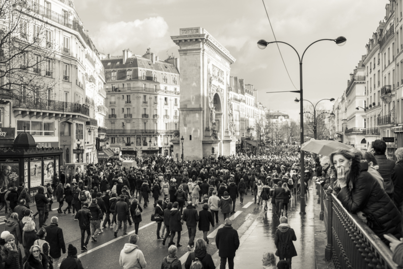 March against terrorism – Paris, Jan. 2015