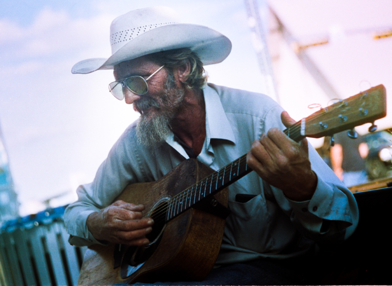 Street Musician in Austin, TX